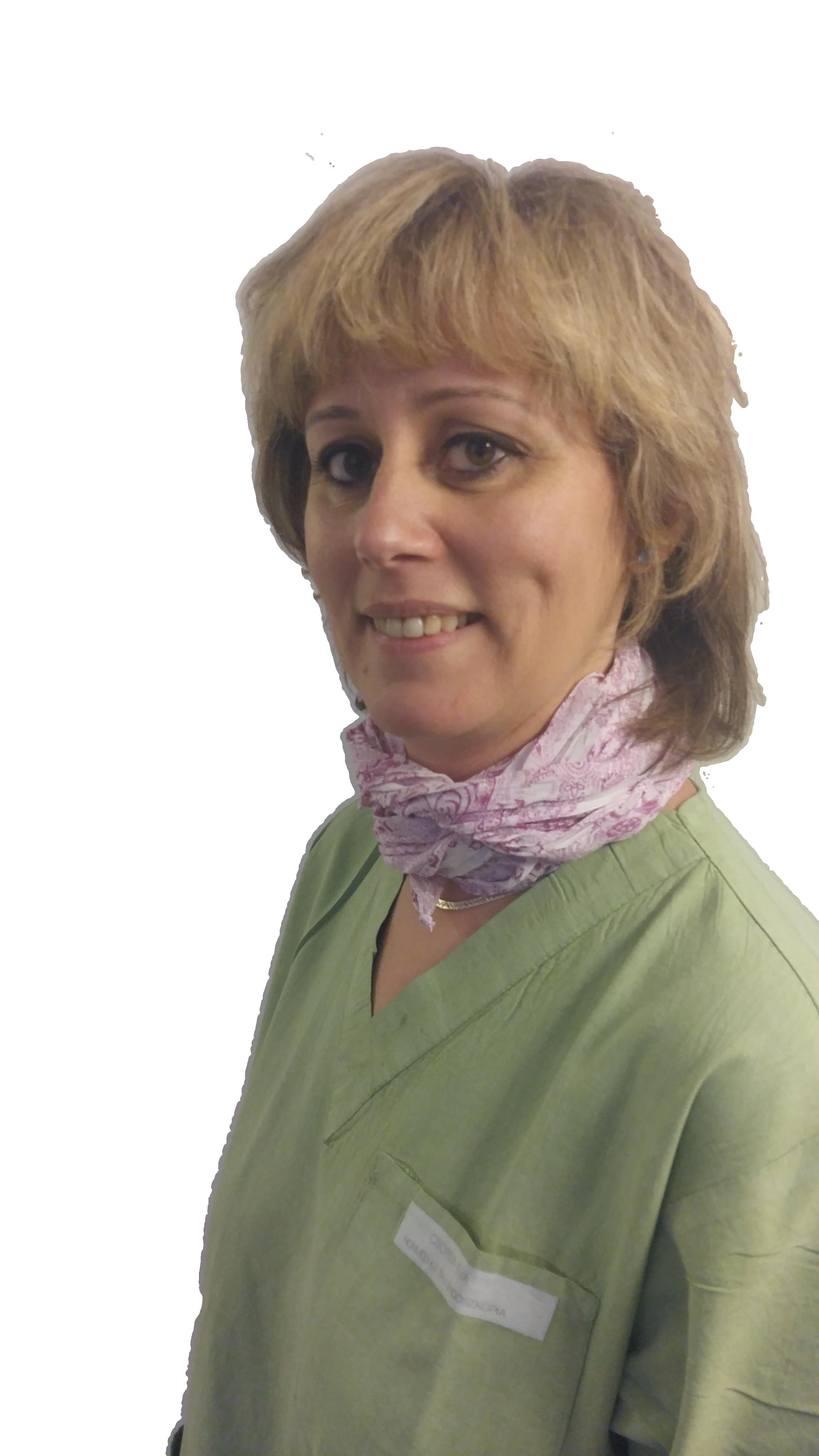 Csorba Éva, endoszkópos szakasszisztens, a Gastromed Center munkatársa
